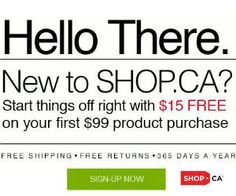 $15 Free from Shop.ca #shopping #Save #coupon http://free.ca/rewards/15-free-from-shop-ca/