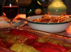 One day about a year or so ago I was watching Lidia's Kitchen on Public Television, and on that day she made several dishes all featuring cubanelle peppers. One of those dishes was the stuff…