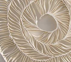 Nuala O'Donovan's handbuilt porcelain ceramic sculpture