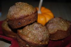 Applesauce Oatmeal Muffins (3 Weight Watchers Points+)
