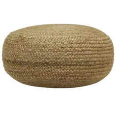 Our round woven pouf is ideal for doing just that. Most commonly used as an ottoman, this natural jute pouf is versatile.use it as footstool, extra seating or top it with a tray and use it as an accent table. Natural Jute, Ottoman, Wood Dust, Decor Therapy, Stylish Decor, Lounge Areas, Pouf, Footstool, Bed Bath And Beyond