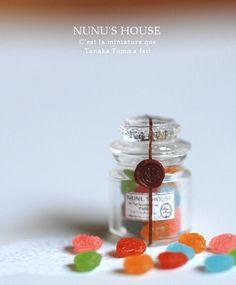 *Candy* - *Nunu's HouseのミニチュアBlog* 1/12サイズのミニチュアの食べ物、雑貨などの制作blogです。