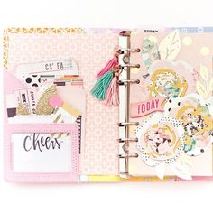 We LOVE planners and making them uniquely yours. Check out Maggie's blog to see how to update your journal or planner with bits from the Confetti collection!