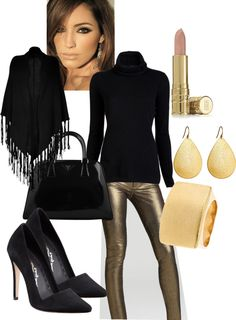 """""""All that glitters......."""" by fabiam on Polyvore"""