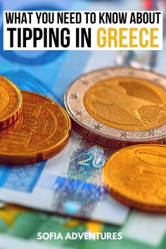 7 Things to Know about Tipping in Greece for a Stress-Free Trip - Sofia Adventures - Top Trends Greece Itinerary, Greek Language, Free Travel, Travel Tips, Santorini, Mykonos, In Case Of Emergency, Guide Book, Greek Islands