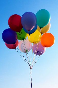 who doesn't love colourful, helium-filled balloons?