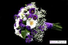 Beautiful Wedding Flowers - LOVE purple...... #purpleweddingflowers