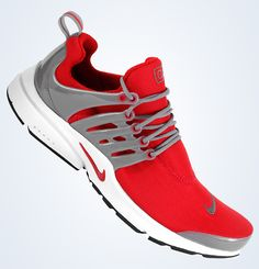 Nike Air Presto: Sport Red/Grey