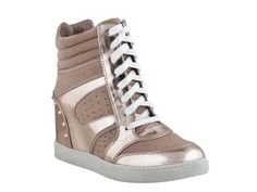 ZIGIny Sportie-Lux Sneaker Bootie - Rose Gold - Lindas G2G Store $68
