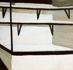 The time - Luc Tuymans Congo Belga, Michael Borremans, New European Painting, Luc Tuymans, Autumn Painting, Art Moderne, Modern Artists, Land Art, Figure Painting