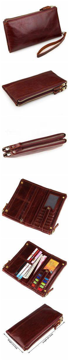 Genuine Leather Men's Briefcase Messenger Bag For Men                                                                                                                                                      More