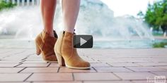 What to Pair With Ankle Boots - Watch video here: http://dailyfashionvideos.com/2012/04/11/ankle-boots/