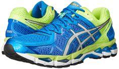 buy popular 8b203 4634b Amazon.com  ASICS Men s Gel Kayano 21 Running Shoe   Color  Royal    Lightning   Flash Yellow