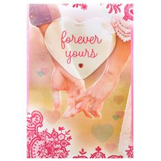 Valentines Greetings Forever Yours FOREVER YOURS..I'm forever yours because when you hold me,nothing else matters more than the l've found with you. Cards size: 14.5 inches x 9.5 inches. Rs. 250 : Shop Now : http://hallmarkcards.co.in/collections/valentines-cards/products/valentines-greetings