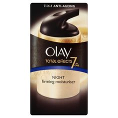 Olay Total Effects Night Firming Moisturiser 50 ml (Packaging Varies)
