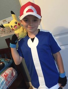 DIY Pokemon Costume For $20 - Halloween Costume For Kids  sc 1 st  Pinterest & This DIY Pikachu Costume is maybe the cutest Pokémon Costume ever ...