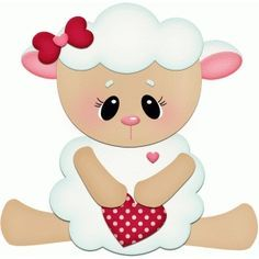 Silhouette Design Store - View Design #55346: lamb holding heart pnc
