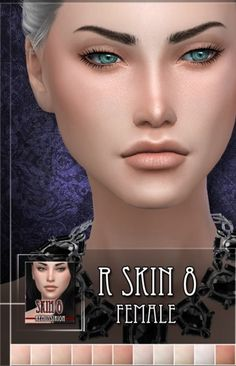 The Sims Resource: R skin 8 female by RemusSirion • Sims 4 Downloads