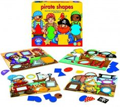 Orchard Toys Formes et pirates (Pirate shapes) (fr) 5011863101747