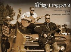 Join us tonight and welcome The Barley Hoppers to Norey's Music Night! #NewportRI