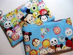 """Title: TSUM TSUM.  Really cute mid weight 100% cotton fabric, imported from Japan.  The name """"tsum tsum"""" comes from the Japanese verb """"tsumu"""" meaning """"to stack"""".   Please indicate which style you wish"""
