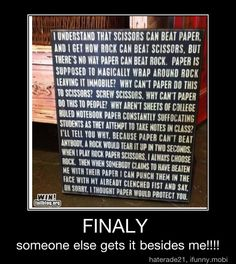 Why Rock Paper Scissors is flawed.