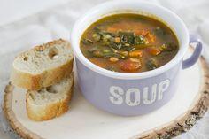 Spiced Veggie Split Pea Soup