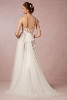 Penelope Gown in Bride Wedding Dresses at BHLDN