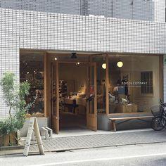 Pin by little muthita on shop in 2018 fachadas Cafe Restaurant, Restaurant Design, Tienda Natural, Ceramic Cafe, Retail Facade, Café Bar, Cafe Bistro, Coffee Shop Design, Shop House Plans