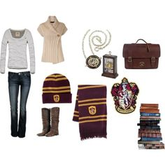 Hermione Granger outfit.  Love that it comes with a bunch of books!