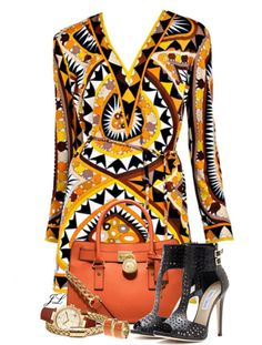 """Vintage Pucci"" by jenalind on Polyvore"