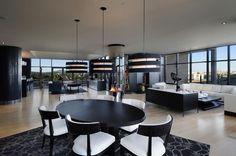 Современный дизайн интерьера пентхауса в Виктории, Канада