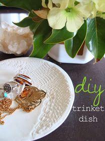 Diy trinket dish