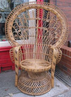 73 best Peacock Chairs images on Pinterest in 2018   Wicker  Wicker     peacock chair ll
