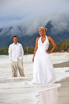 Trash the Dress in Hawaii