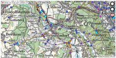 Birmensdorf (ZH) Handy antennen netz Natel http://ift.tt/2uk3jqc #dataviz #swiss