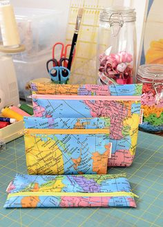 Globetrotter Pouches