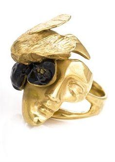 Yunus & Eliza gold ring .....