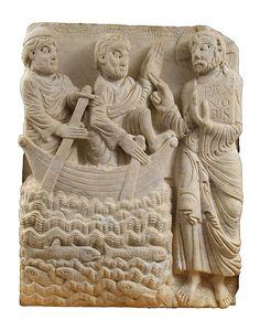 """""""L'aparició de Jesús als seus deixebles en el mar"""", de Mestre de Cabestany. És la proposta del Museu Frederic Marès per al viquiprojecte 'Una Joia del Museu' (DIM 2013)"""