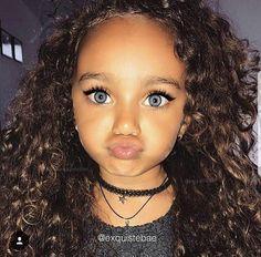 Cute little black girl hairstyles - Süß - Frisyrer Cute Mixed Babies, Cute Black Babies, Beautiful Black Babies, Cute Little Baby, Pretty Baby, Cute Baby Girl, Beautiful Children, Cute Babies, Pretty Mixed Girls