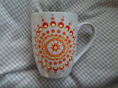 stippenkunst - Google zoeken Dot Painting, Ceramic Art, Coffee Mugs, Dots, Pottery, Clay, Tableware, Google, Craft