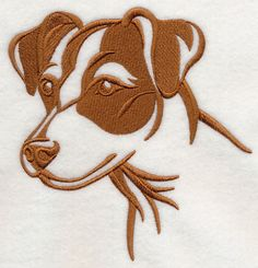 Machine Embroidery Designs at Embroidery Library! - Jack Russell ...