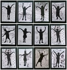 33 ideas shadow art for kids 6th Grade Art, Fourth Grade, Ecole Art, Shadow Art, Middle School Art, Art Lessons Elementary, Collaborative Art, Art Lesson Plans, Art Classroom