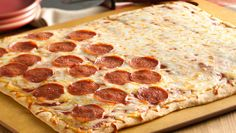 A perfect pizza for pepperoni lovers and cheese lovers alike!