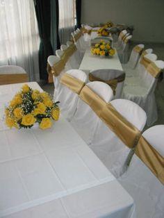 Centro de eventos YMCA Bogotu00e1: Salones, eventos sociales y empresariales Event Room, Ideas Para, Table Decorations, Furniture, Home Decor, Shape, Tela, Covering Chairs, Function Hall