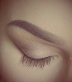 Natural makeup #anastasiabrows #dipbrow #ebony