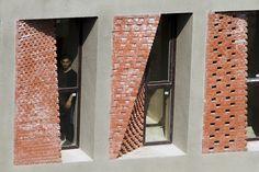 caat studio uses bricks to diversify low-cost apartment complex in iran