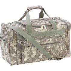 "Camoflauge Multi-Purpose 18"" Tactical GEAR BAG Hunting Paint Ball Ammo Range EDC #ExtremePak #DuffleGymBag"