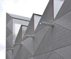 EQUITONE facade on Smith pavilion