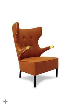 SIKA | Modern Upholstered Armchair by BRABBU #armchairs
